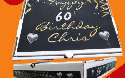 Personalized Pizza Box – Creative Ideas for Birthdays